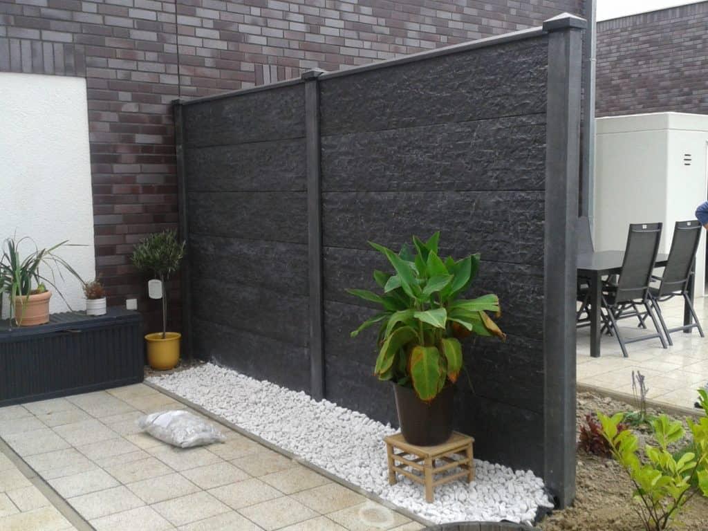 Hochwertige Zaune Aus Beton Im Zeitgemassen Design